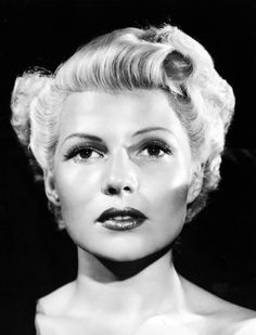 "Rita Hayworth,  ""Lady From Shanghai"" (1947).  they had faces"