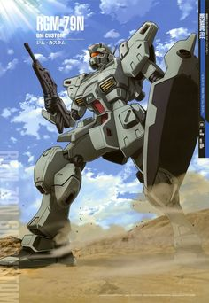The RGM-79N GM Custom is a limited-production general-purpose mobile suit, that first appeared in Mobile Suit Gundam 0083: Stardust Memory.