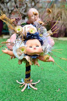 Our Creepy Dolls Head Bouquet Creepy Dolls, Doll Head, Bouquet, Bouquet Of Flowers, Bouquets, Floral Arrangements, Nosegay