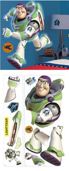 Buzz Lightyear Giant Wall Sticker - Wall Sticker Outlet
