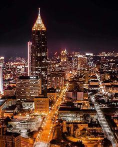 Evening Time in Atlanta