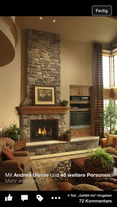Small Living Room Design with Fireplace. Small Living Room Design with Fireplace. 20 Living Room with Fireplace that Will Warm You All Winter Rustic Fireplaces, Home Fireplace, Fireplace Remodel, Living Room With Fireplace, Living Room Decor, Fireplace Ideas, Fireplace Modern, Fireplace Makeovers, Simple Fireplace