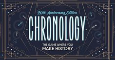 Amazon.com: CHRONOLOGY BOARD GAME by Buffalo Games - The Game of All Time!: Toys & Games