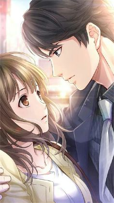 It's OK baby I had came with the client I just waited for and left its OK honey love u umhaaaa Anime Amor, Anime Cupples, Couples Anime, Anime Couples Drawings, Romantic Anime Couples, Couple Manga, Anime Love Couple, Anime Love Story, Manga Love