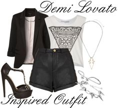 Demi Lovato Inspired Outfit