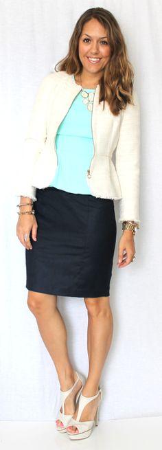 J's Everyday Fashion: Today's Everyday Fashion: The Boucle Jacket