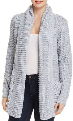 AQUA Shawl Collar Cardigan - 100% Exclusive - I want this sweater! Looks like a curl up with a good book and coffee kind of sweater.