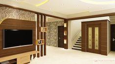 Wood Partition Wood Partition Design, Living Room Partition Design, Ceiling Design Living Room, House Arch Design, Bungalow House Design, Staircase Design, Tv Unit Interior Design, Wardrobe Interior Design, Modern Tv Unit Designs