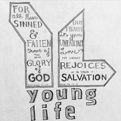 #younglife Two awesome verses that go well together