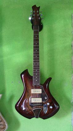 GrooveMaster Micciacorta guitar first prototype