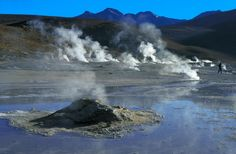 El Tatio Geysers - 80 hot geysers at one place in Atacama Region