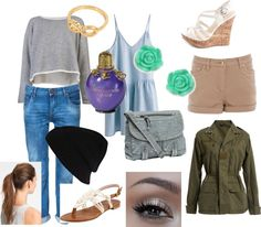 """""""Emily Fields Outfit"""" by georgialambros ❤ liked on Polyvore"""