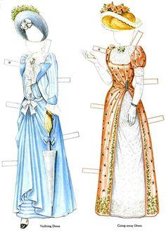 Victorian Bride and her trousseau Paper dolls - Maria Varga - Picasa Web Albums