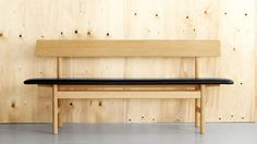 10 Easy Pieces: Modern Wooden Benches with Backs - Remodelista