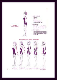 Useful posture chart. I think I'm lady #4 most times :/