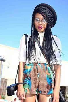 <3 the outfit and styling of braids in this pic