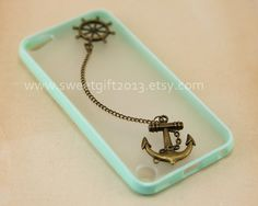 Rudder and Anchor Ipod Touch 5 Case Samsung by sweetgift2013, $8.99