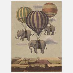 Fab.com   Flight Of The Elephants