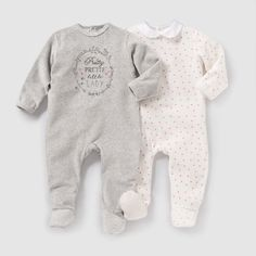 Pyjama velours (lot de 2) R Mini | La Redoute