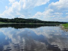 My beloved St. John River in Aroostook County.