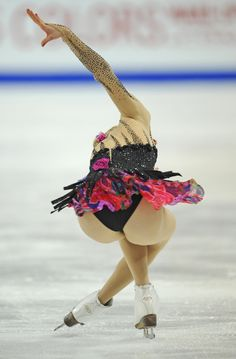 Figure skating is a sport in which individuals, duos, or groups perform on Olympic Gymnastics, Gymnastics Girls, Carolina Kostner, Foto Sport, Gymnastics Photography, World Figure Skating Championships, Athletic Girls, Figure Skating Dresses, Women Figure