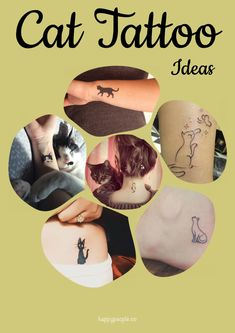 21 Really Cute Cat Tattoo Ideas