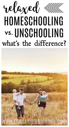 What IS the difference between Relaxed Homeschooling and Unschooling