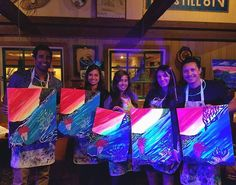 GET EXCITED!  HAPPY BIRTHDAY JASMINE❣🎂🍹 WOW!! Check out all these stunning Glow in the Dark Mermaids with glitter! 😍 It was everyone's first time painting with  Paint and Glow! We have some very talented Artists!!🎨 Log onto paintandglowbydavina.com  Contact Davina (619)944-1431 To Book Your Paint and Glow Party Today!  CHEERS!  #paintandglow #glowinthedark #blacklight #uvlights #sandiego #oceanbeacb #northpark #birthday #neon #mimiscafe #miramesa #pacificbeach #oceanbeacb #lajolla…