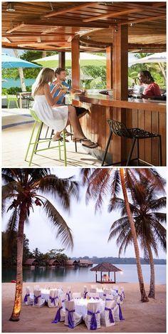 #Holiday_Inn_Resort_Vanuatu - #Port_Vila - #Vanuatu… Pacific Destinations, Great Barrier Reef, Vanuatu, South Pacific, Hotels And Resorts, Continents, Worlds Largest, Countryside, Sydney