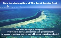 *VERY IMPORTANT AND URGENT*  Coal companies are asking the Australian government for approval for them to use our reef as a waste dump for coal port expansions.  Sign and share the petition to protect the Reef from greedy corporations  @  https://secure.avaaz.org/en/australian_coal_disaster_global/?pv=13=fb  The Great Barrier Reef belongs to every single Australian & Everyone in the World.  Join the fight @ http://fightforthereef.org.au/ www.youtube.com/watch?v=Xg5O260oypk=youtu.be…