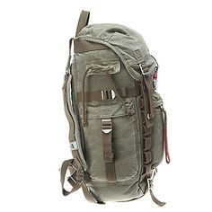 The North Face Canvas Pack Cargo Green