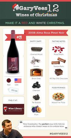 2008 - Alma Rosa Santa Rita Hills Pinot Noir #garyvees12.    Always love Santa Rita hills Pinot.