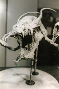 James Kagel, fierce monster concept sculpture
