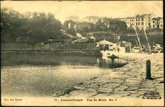 Kadıköy / Moda iskelesi - 1920 ler