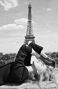 Black & White Glamour in Paris Be Free. Be You. Be Empowered. http://fabfiercefreedom.com/