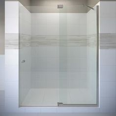 Basco Cantour 54.0215-In To 60-In Frameless Pivot Shower Door Cana-935