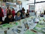 Aquarellkurs mit Frank Koebsch in der Kunsthalle Rostock im Rahmen Rostock kreativ  (5)