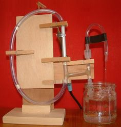 Fluidyne (Stirling Engine Water Pump) Mounted to top of cistern