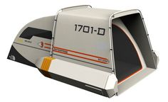 Boldly Go Camping In This Star Trek Shuttlecraft Tent