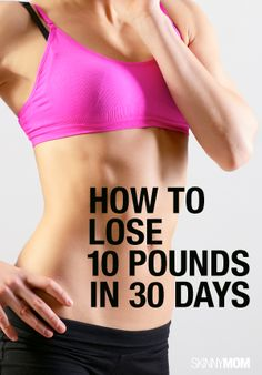 Great tips to shed those pounds!