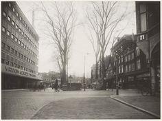 Verwulft, gezien vanuit de Gedempte Oude Gracht 1935