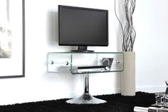 MEUBLE TV TRANSPARENT SABINA http://www.cotecosy.com/salon/rangement-salon/meubles-tv/meuble-tv-transparent-sabina.html