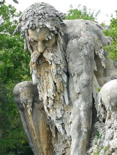 Giant 16th Century 'Colossus' Sculpture In Florence 07