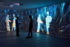 Quantum Space – Interactive Room – OpenFrameworks  https://vimeo.com/120944206
