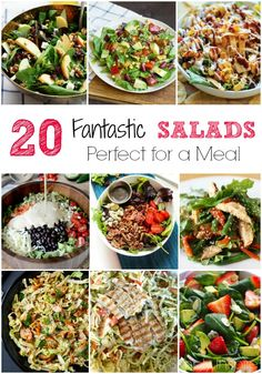 20 Fantastic Salads Perfect for a Meal