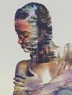 Wilderness Heart #2 Canvas Print