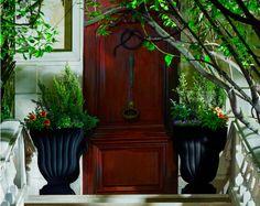 Leyla Urn | Crescent Garden-Indoor and Outdoor Planters
