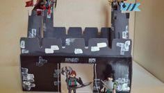DIY : fabriquer un château-fort