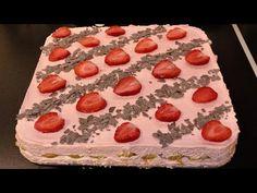 TIRAMISU cu capsuni Tiramisu, Erika, Strawberry, Eggs, Make It Yourself, Cream, Cake, Desserts, Youtube