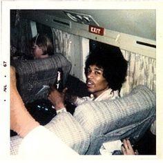 """iloveretro: """"  Jimi Hendrix (1967) """""""